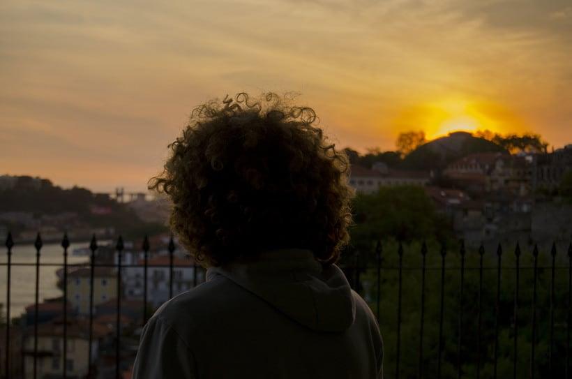 Oporto sunset 1
