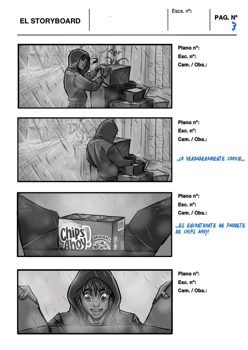 story preproduccion anuncio chipsAhoy 17