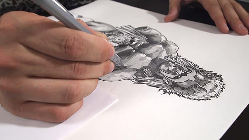 Dani Blázquez: del dibujo a lápiz a la ilustración digital 3