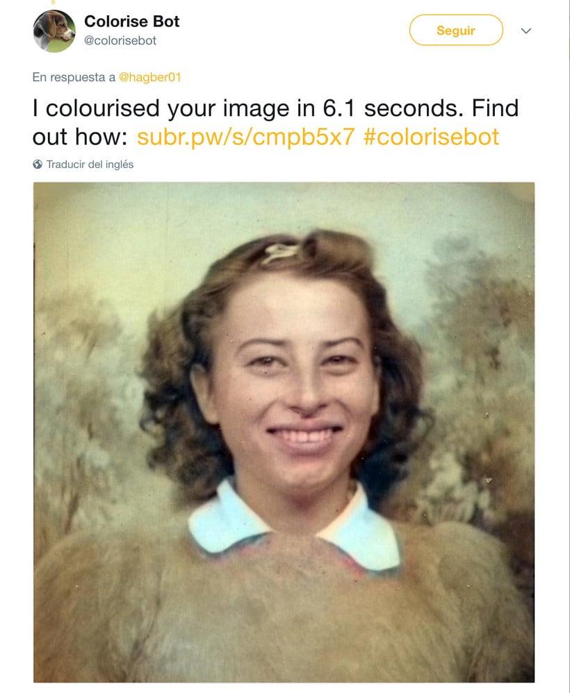 Un bot de Twitter que colorea tus fotos en blanco y negro 3
