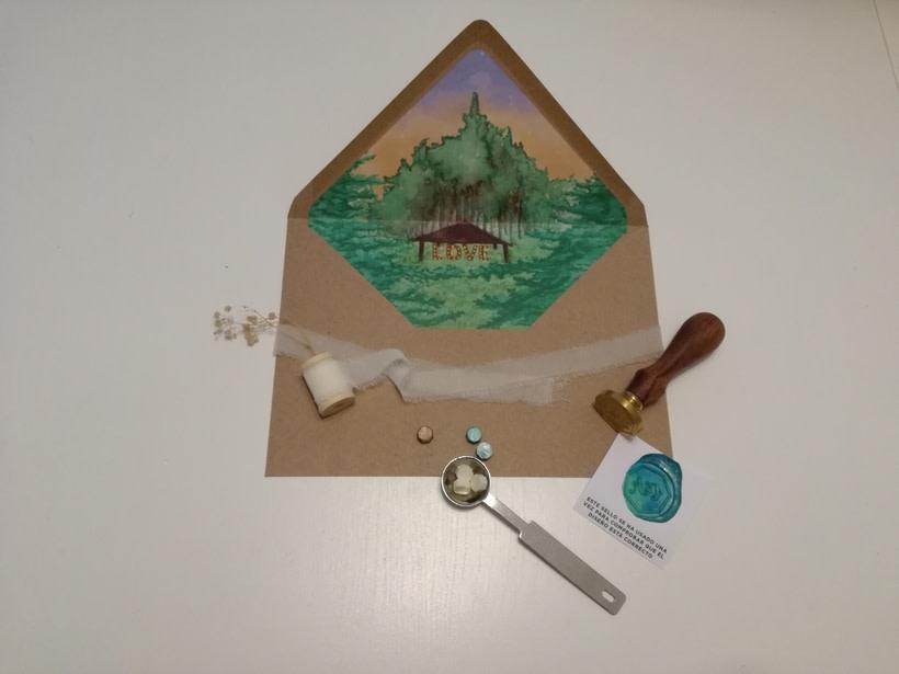 Invitaciones Boda Bosque 7