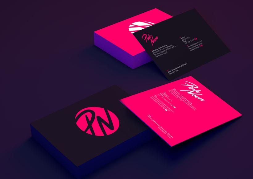 Pink Neon Studio. Proyecto Freelance. 3