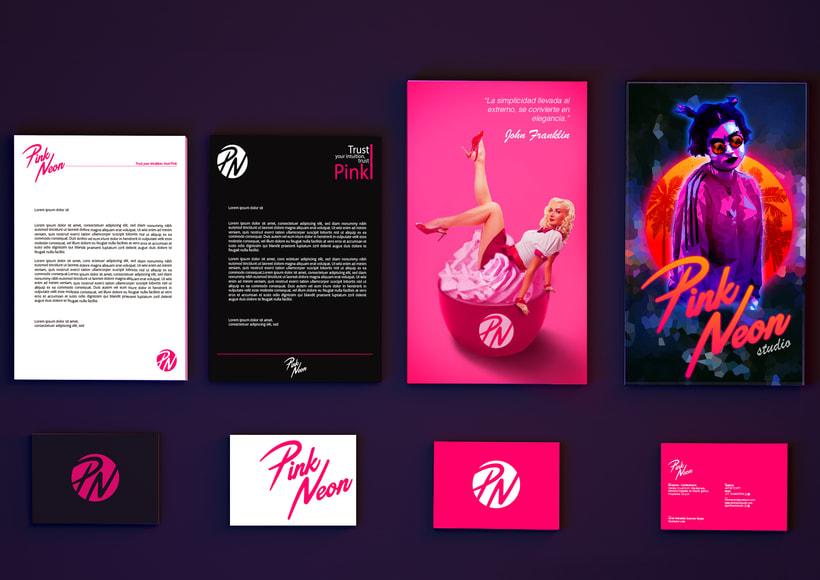 Pink Neon Studio. Proyecto Freelance. 4