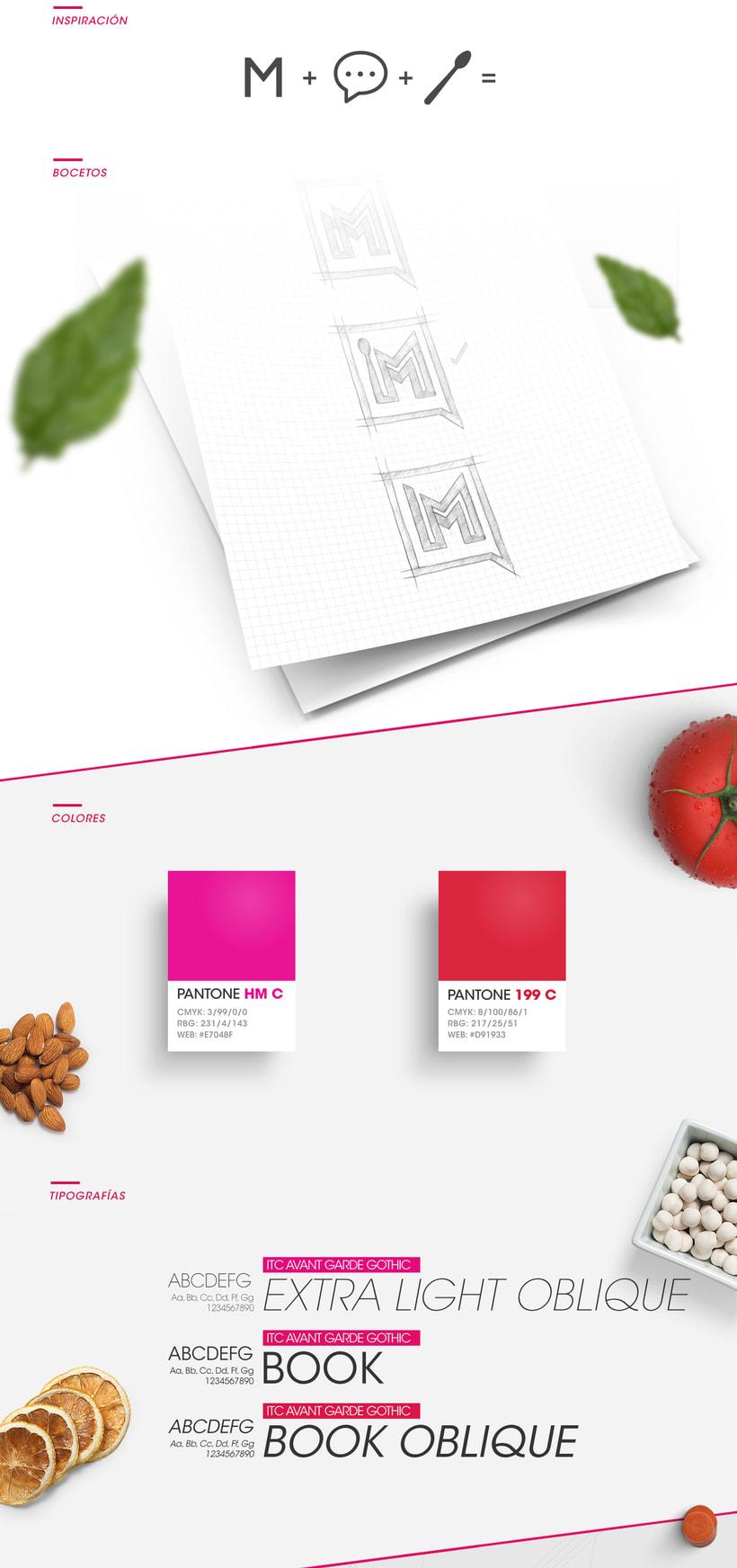 Branding - El Menú 0