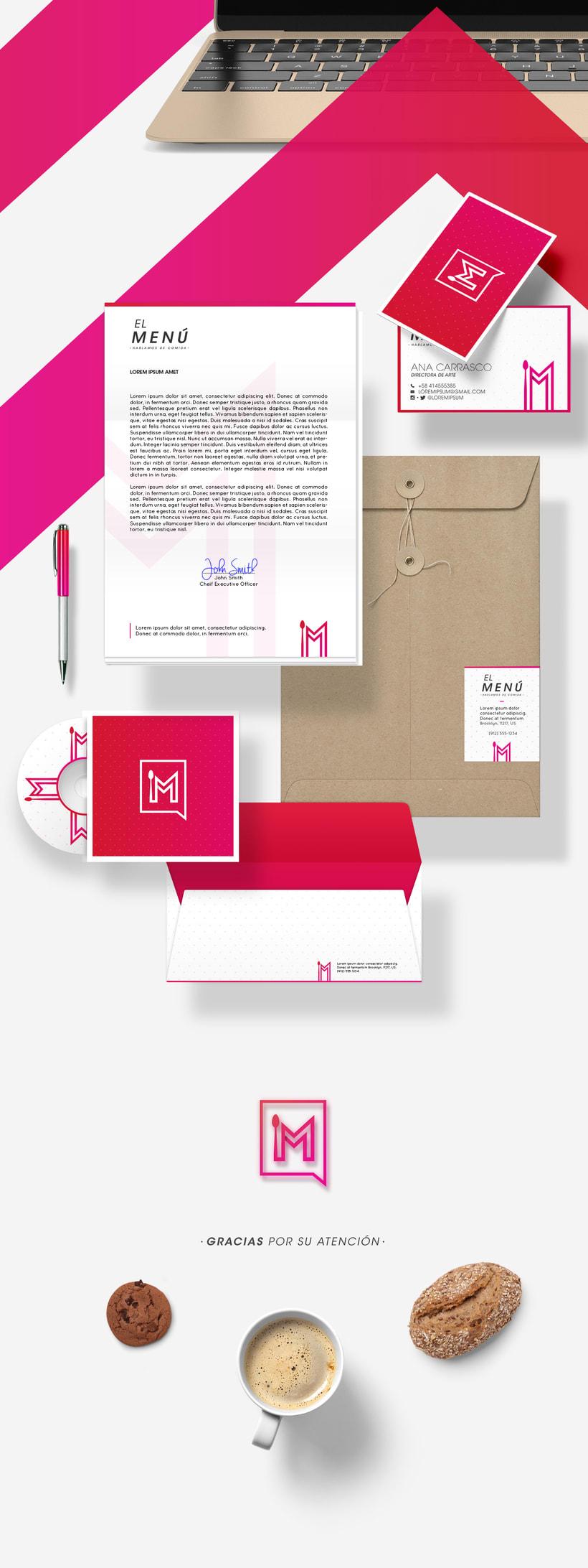 Branding - El Menú 3