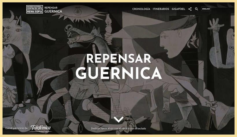 Explora digitalmente los secretos del 'Guernica' de Picasso 1