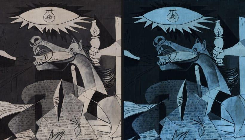 Explora digitalmente los secretos del 'Guernica' de Picasso 13