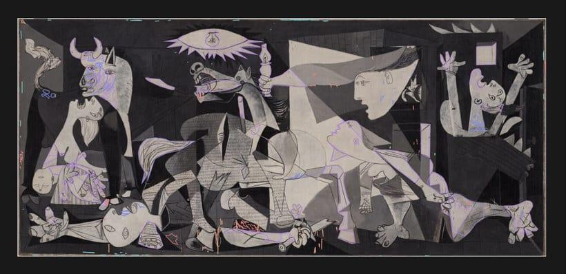 Explora digitalmente los secretos del 'Guernica' de Picasso 7