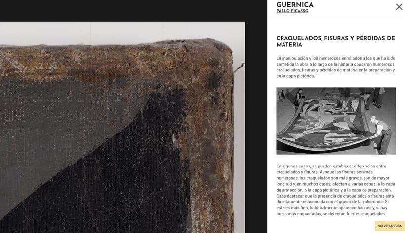 Explora digitalmente los secretos del 'Guernica' de Picasso 6