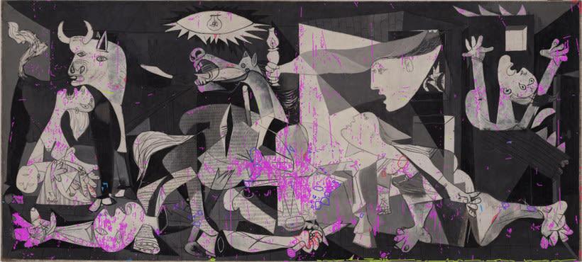 Explora digitalmente los secretos del 'Guernica' de Picasso 10