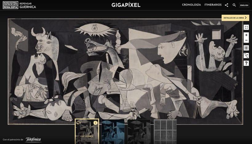 Explora digitalmente los secretos del 'Guernica' de Picasso 12