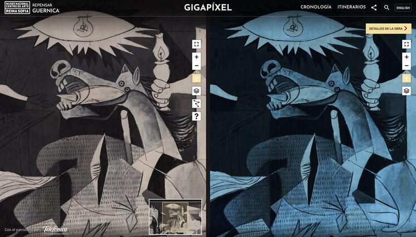 Explora digitalmente los secretos del 'Guernica' de Picasso 3