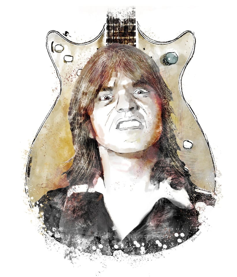 Malcolm Young -1