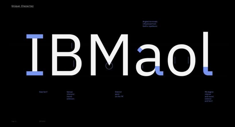 IBM diseña su tipografía corporativa open source 5