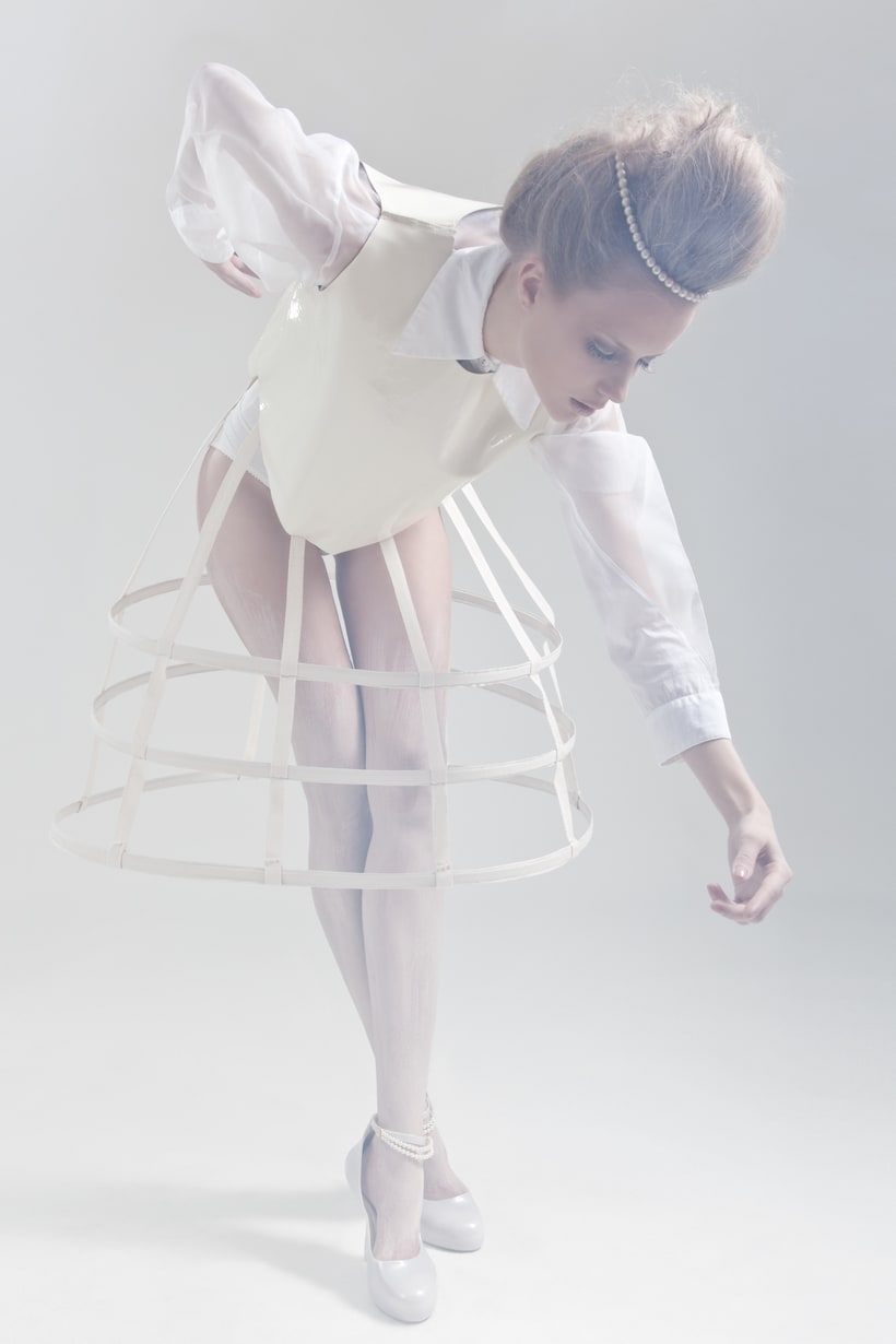 Blanc. A fashion and Art piece inspired by the Blanc Ballet. 0