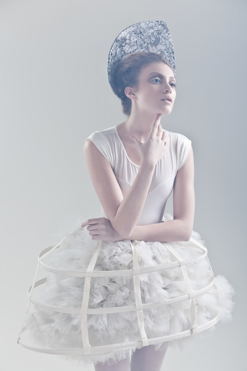 Blanc. A fashion and Art piece inspired by the Blanc Ballet. 1