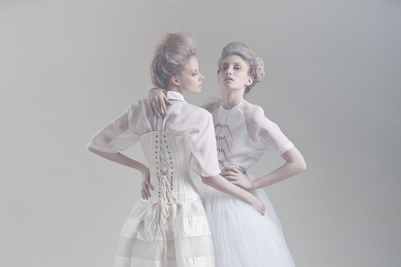 Blanc. A fashion and Art piece inspired by the Blanc Ballet. 2