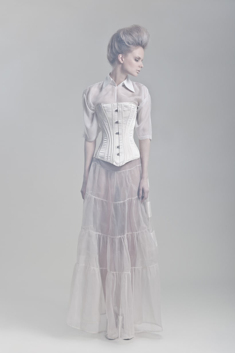 Blanc. A fashion and Art piece inspired by the Blanc Ballet. 9