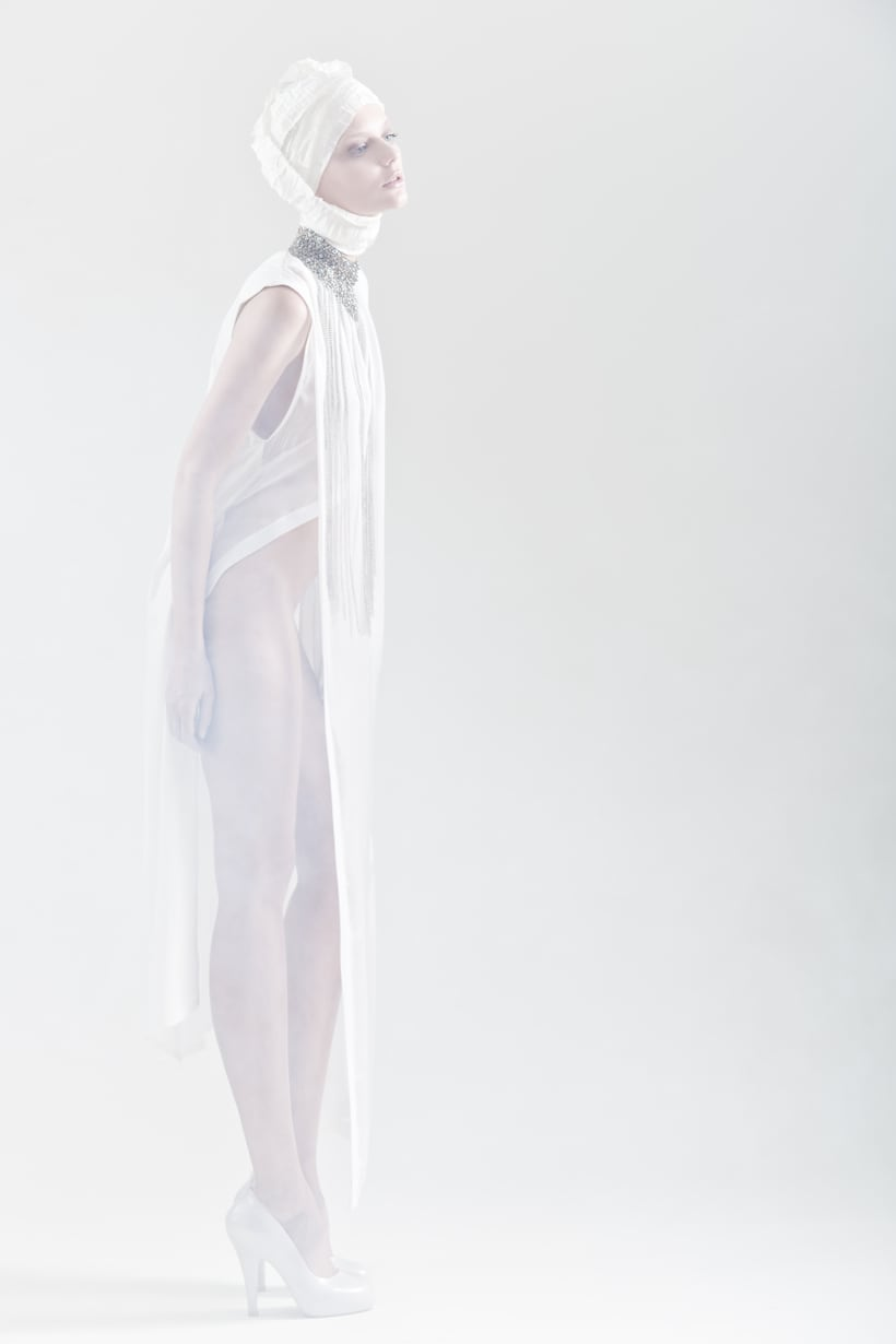 Blanc. A fashion and Art piece inspired by the Blanc Ballet. 11