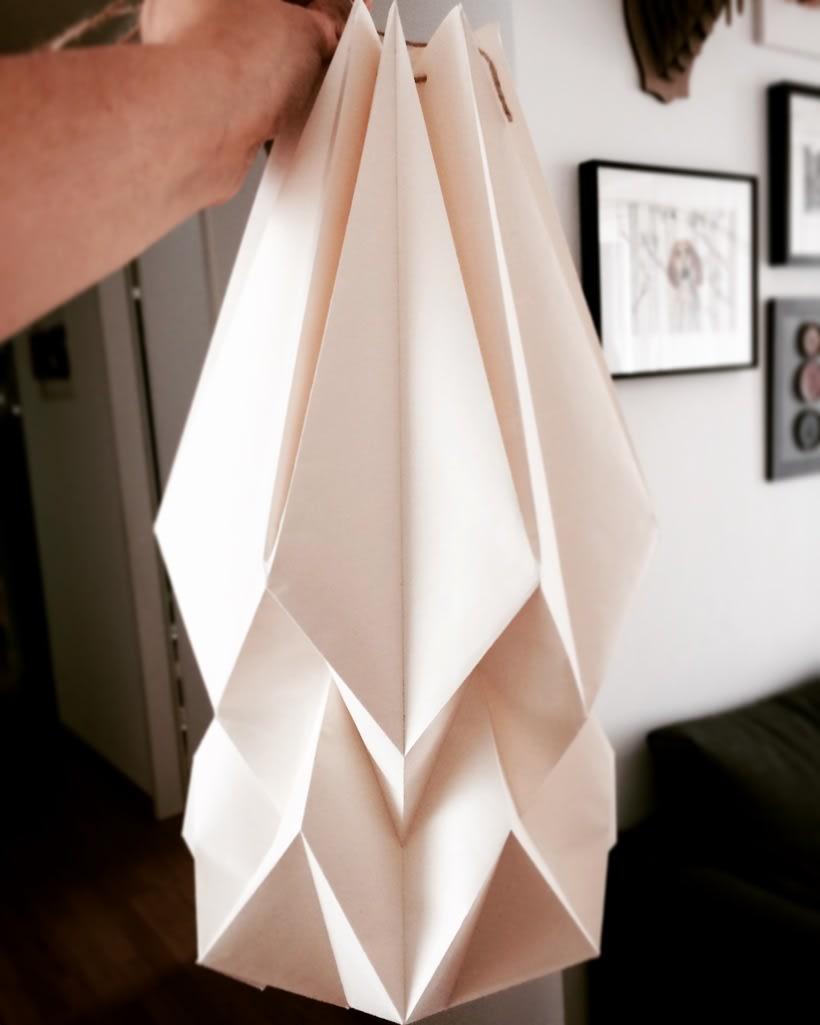 Lámparas de origami. 0