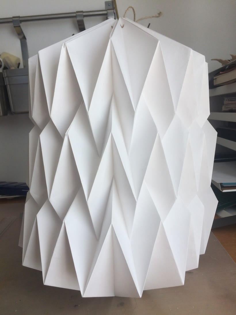 Lámparas de origami. 1