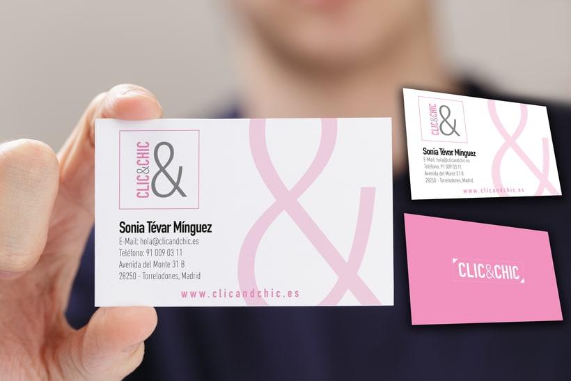 Línea Gráfica Clic&Chic (Tienda online Ropa de Mujer) 3