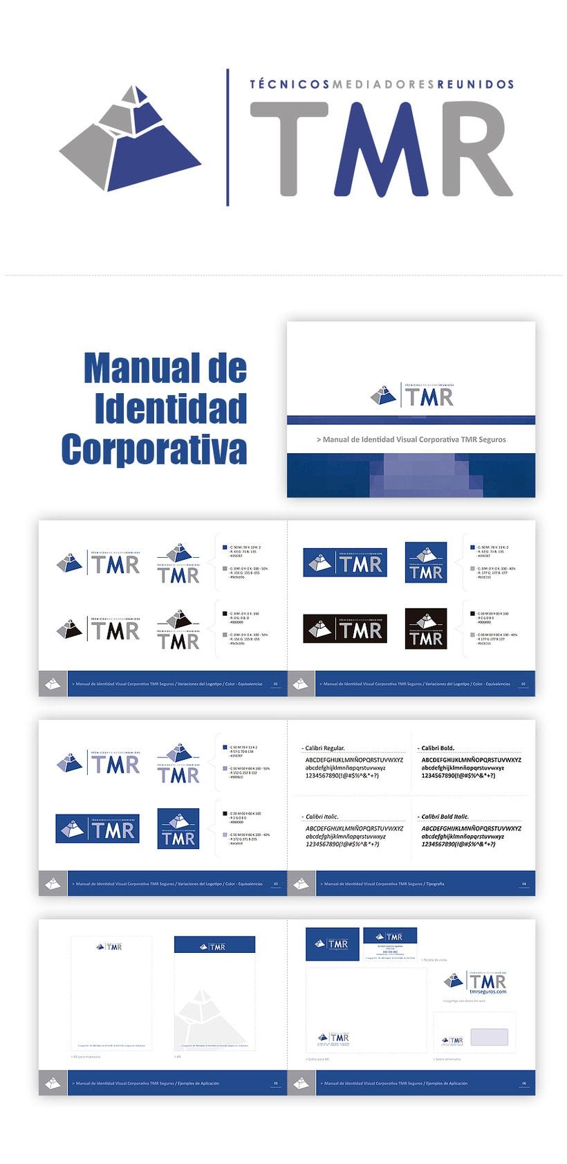 TMR Seguros, Imagen Corporativa y Web  0