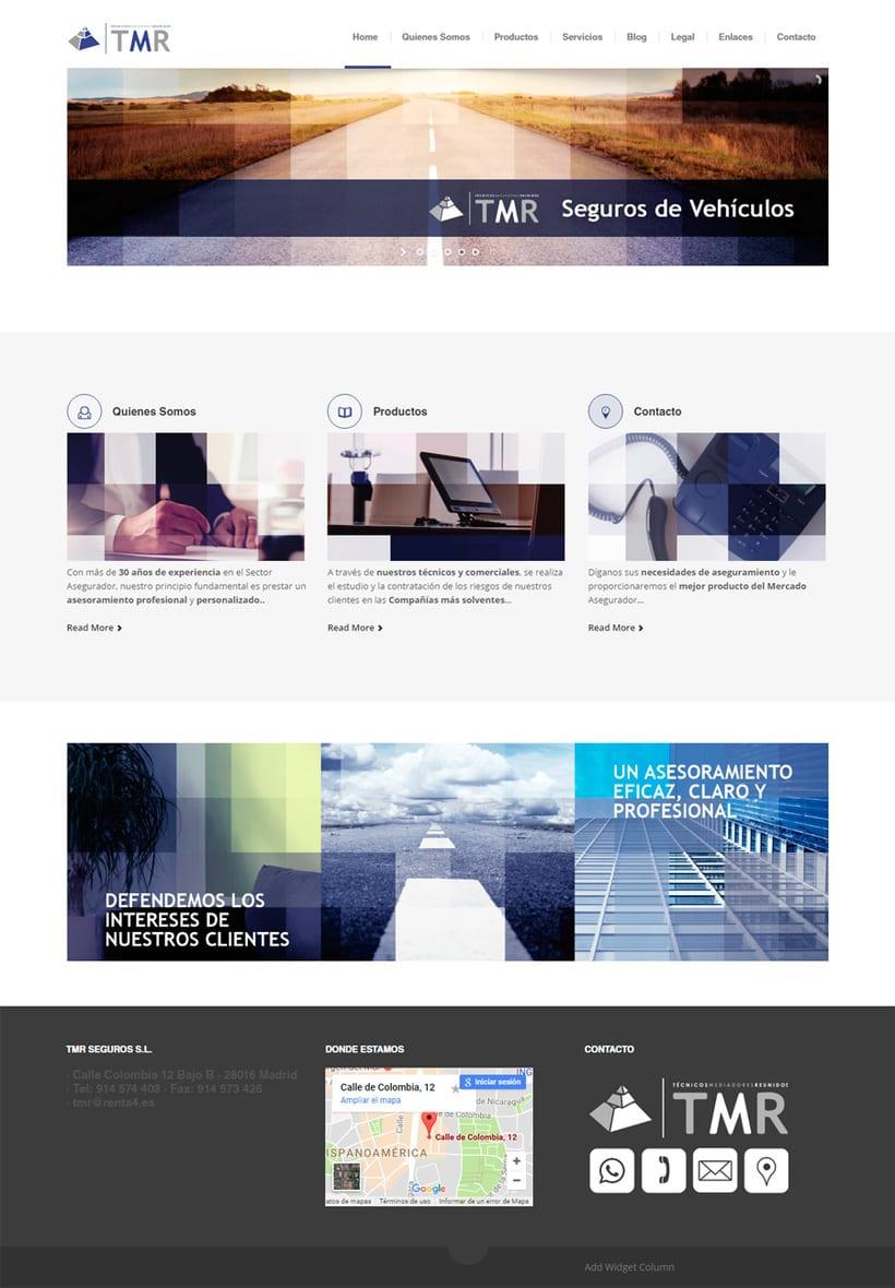TMR Seguros, Imagen Corporativa y Web  1