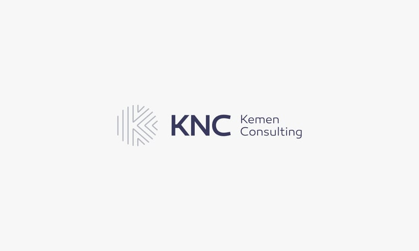 Logo and brand image - KNC. 3