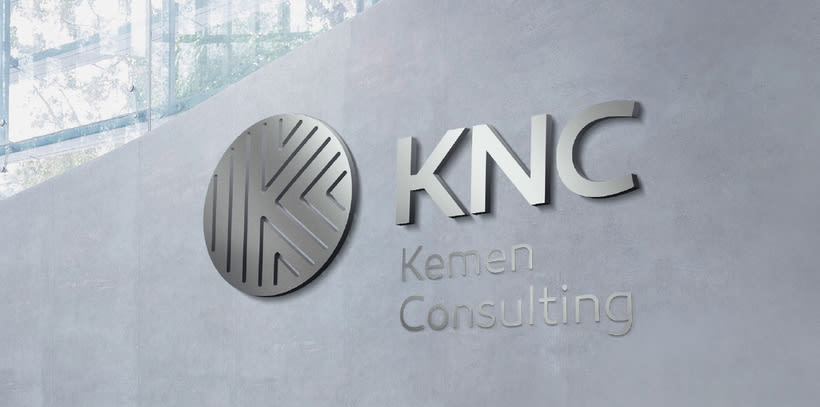 Logo and brand image - KNC. 5