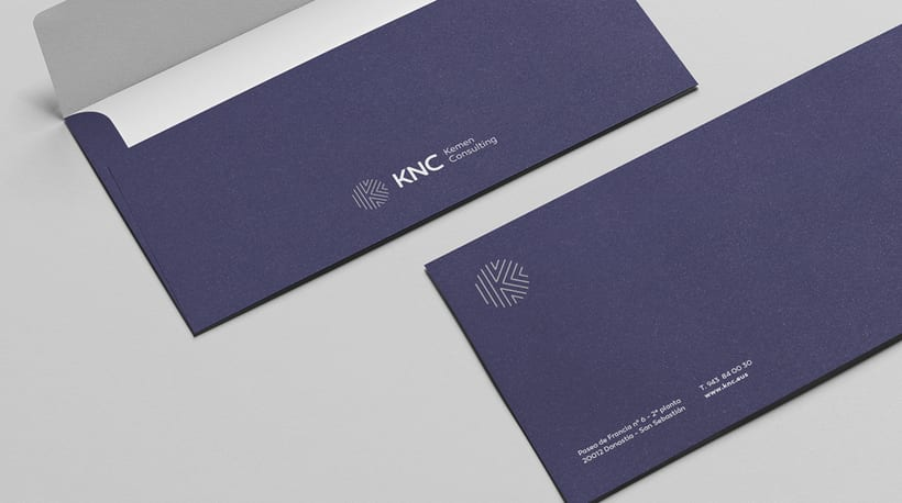Logo and brand image - KNC. 10