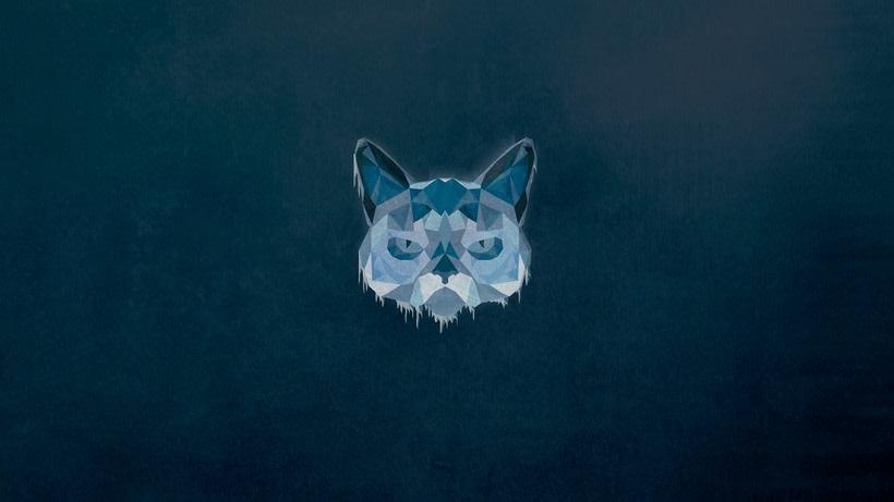 Frozen Cat Studios Logo 3