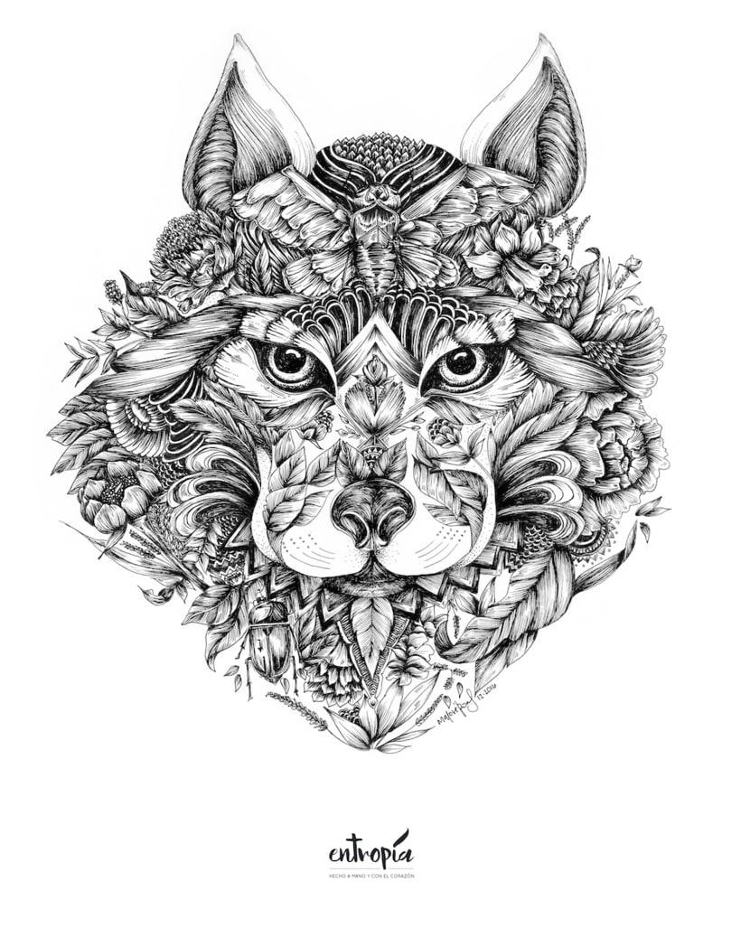 Lobo a plumilla 2