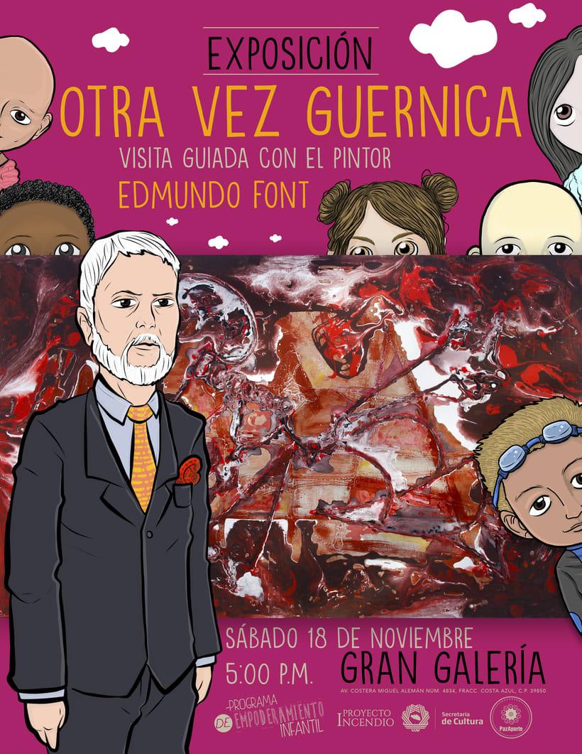Guernica, Picasso y Edmundo Font / Programa de Empoderamiento Infantil / Programa #PazAporte Guerrero 0