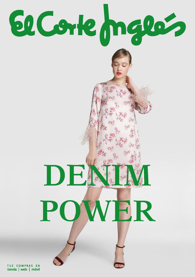 Anuncio DENIM POWER (Corte Inglés) -1