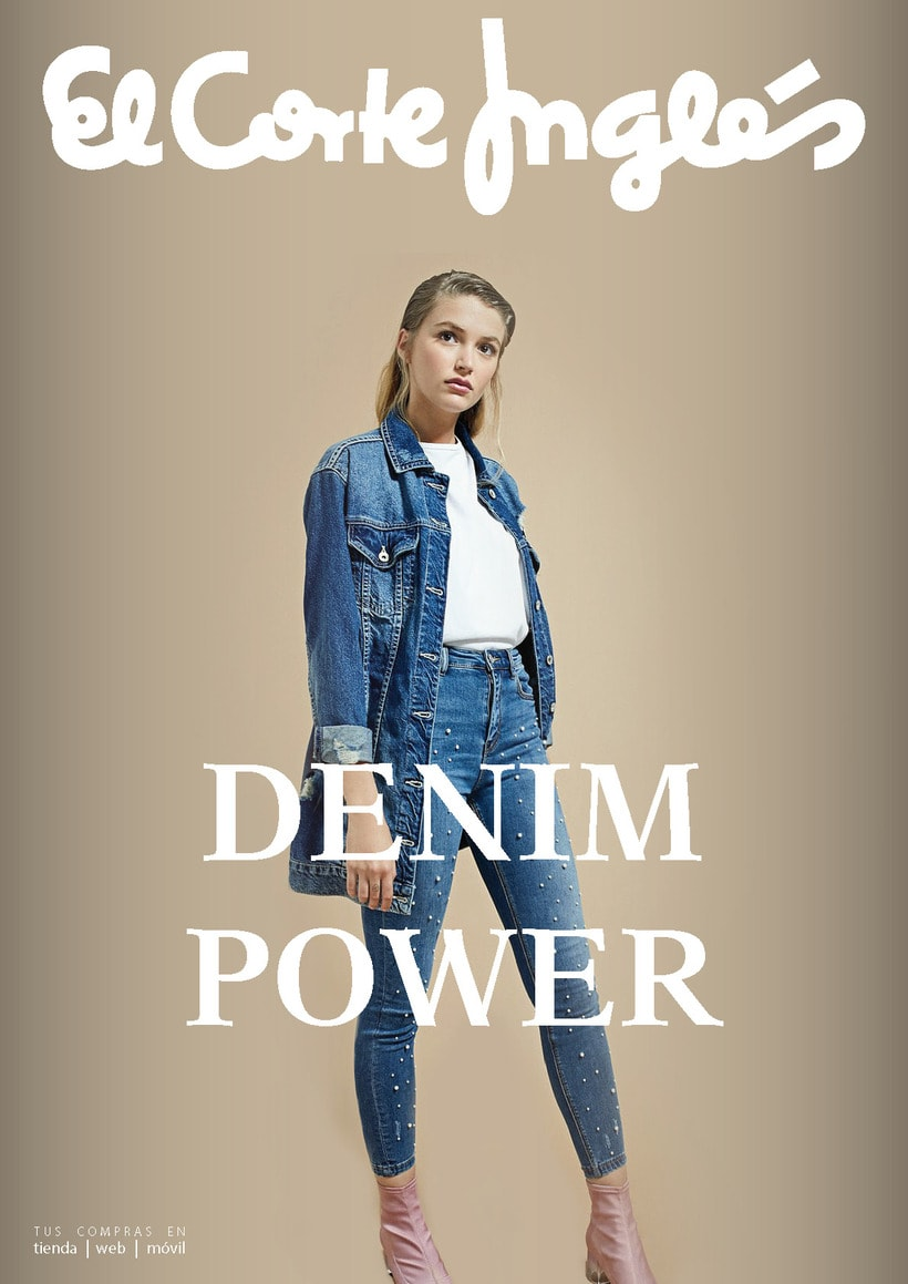 Anuncio DENIM POWER (Corte Inglés) 0