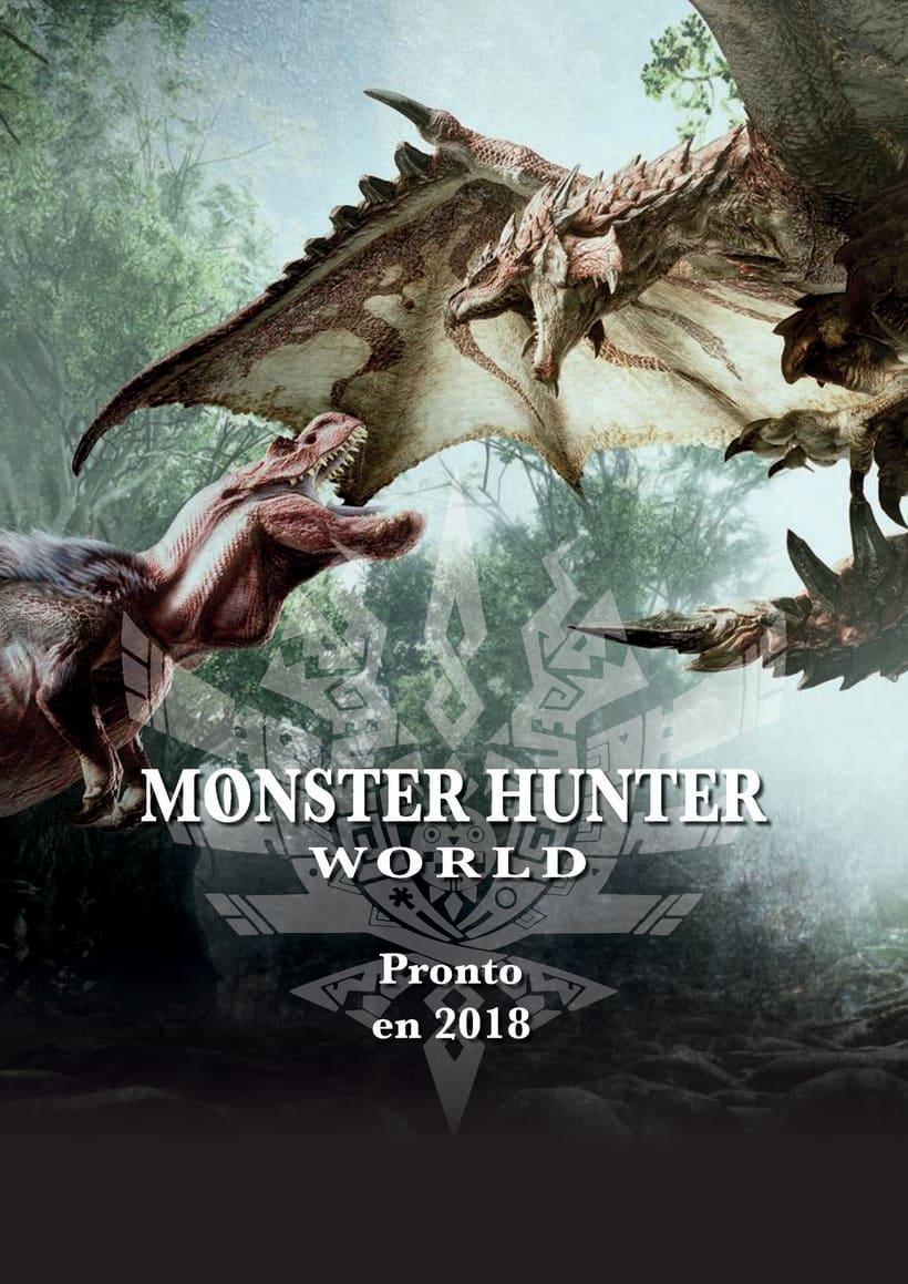 Proximamente Monster Hunter World -1