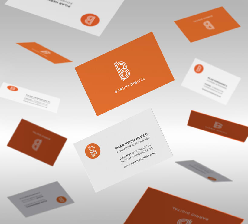 BARRIO DIGITAL · Brand Identity Design 0