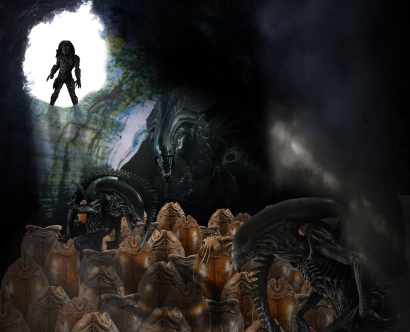 Fotomontaje Alien/Predator 0