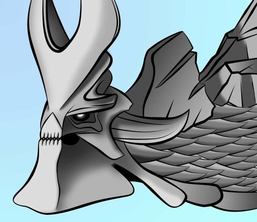 Monster hunter + Illustrator -1
