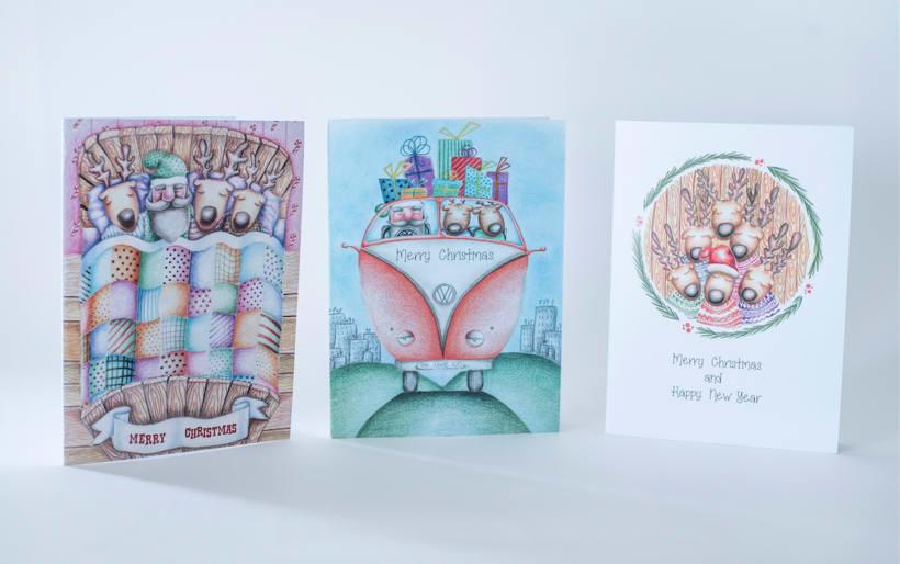 CHRISTMAS CARDS 1