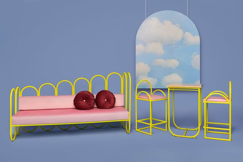 Arco: mobiliario estilo años 70 de Masquespacio 1