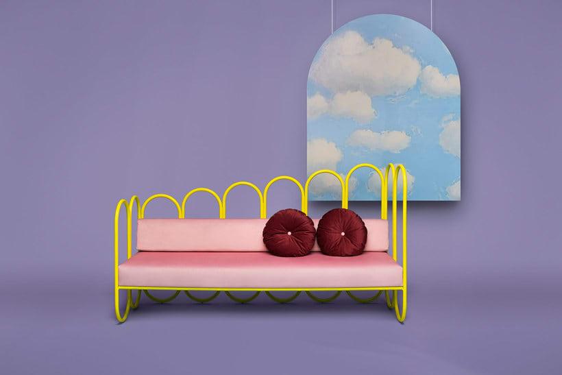 Arco: mobiliario estilo años 70 de Masquespacio 7