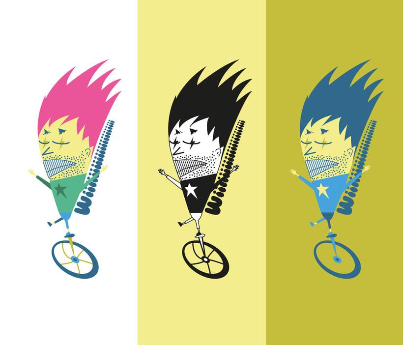 Ilustración ciclista -1