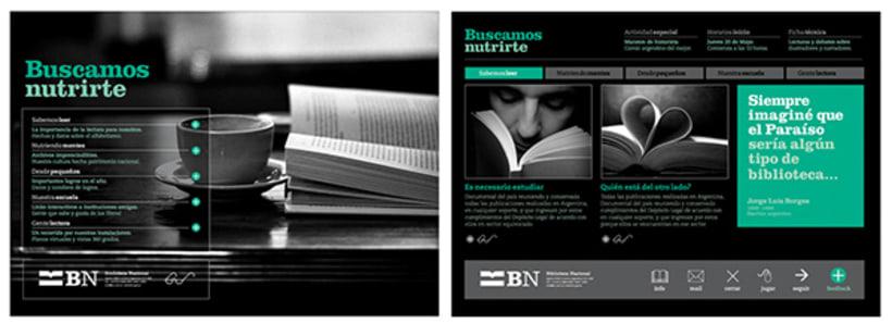 Identidad de Marca para la Biblioteca Nacional 8