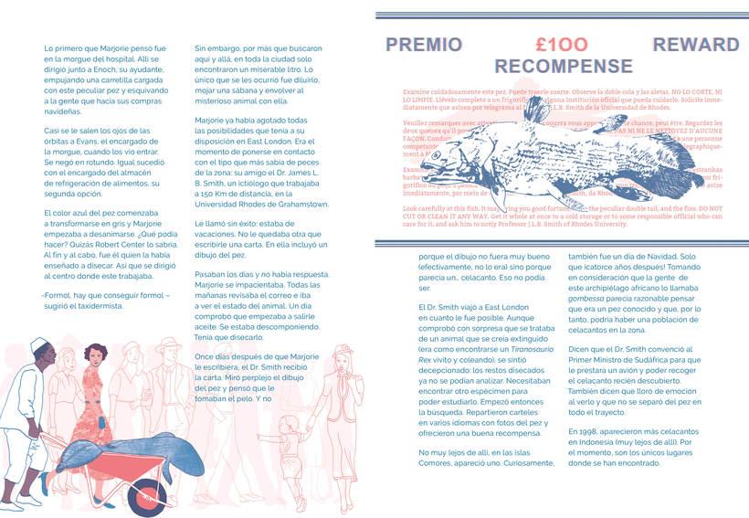 EL ENCANTO DEL CELACANTO (para revista ¡La leche! #4) 2