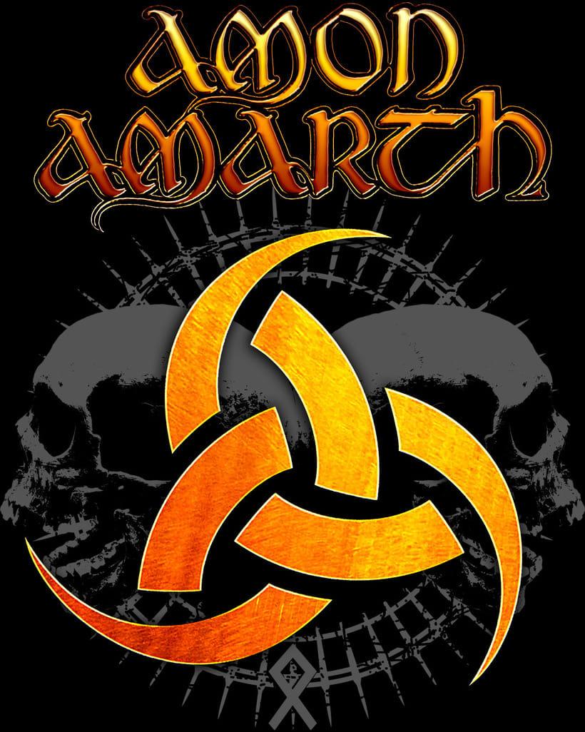 Amon Amarth T-shirt -1