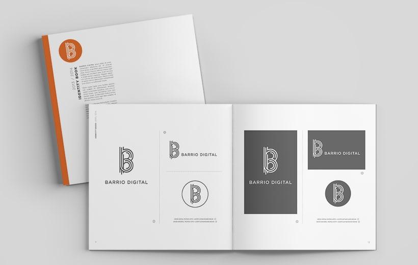 BARRIO DIGITAL · Brand Identity Design 2