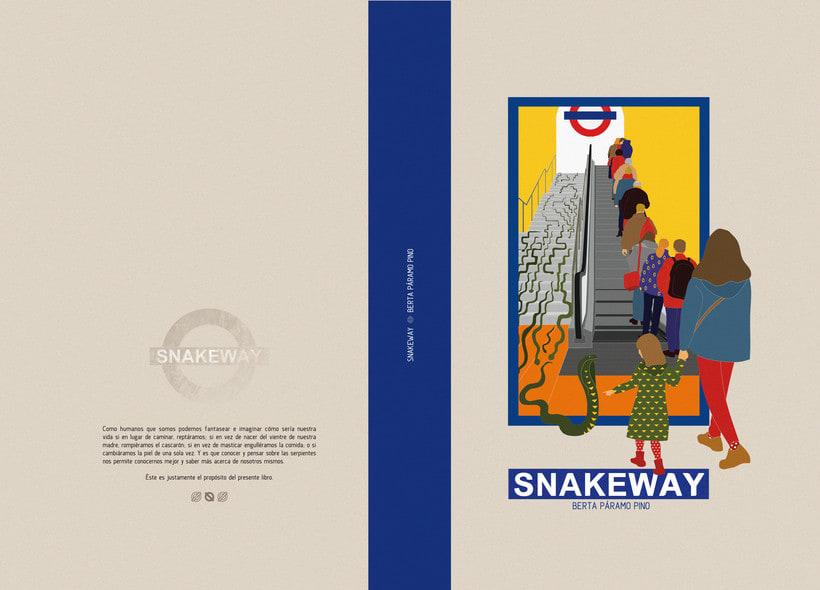 SNAKEWAY, un libro informativo sobre sepientes y hombres 0