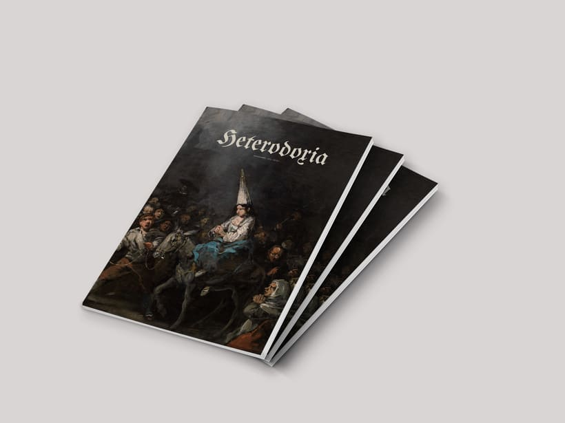 Diseño Editorial «Heterodoxia» 0